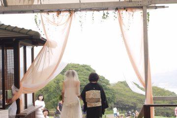 ウェディングレポート「能古島アイランドパークでの結婚式」