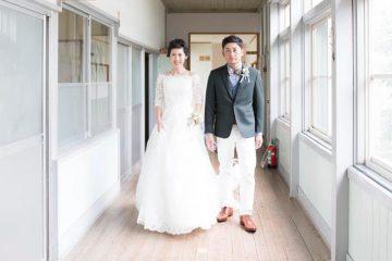 ウェディングレポート「新郎様が卒業した小学校での結婚式」